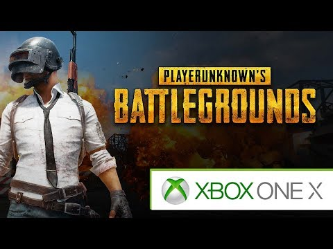 PUBG - Battlegrounds on XBOX ONE X || First Impressions
