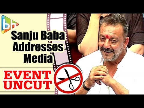 Sanjay Dutt Addresses The Media After Getting Released From Jail | Event Uncut