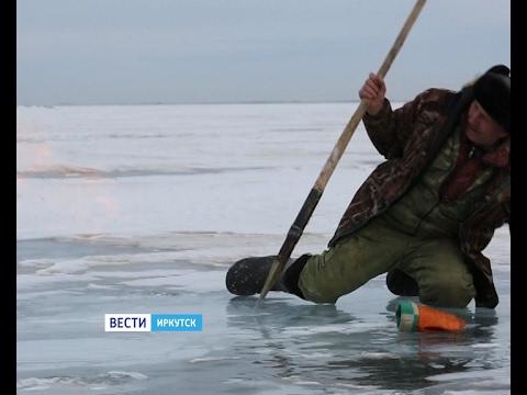 Столб огня посреди Байкала. Уникальные кадры снял на озере иркутский журналист, Вести-Иркутск