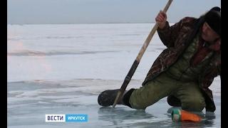Столб огня посреди Байкала. Уникальные кадры снял на озере иркутский журналист,