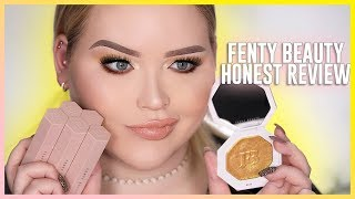 RIHANNA: FENTY BEAUTY - Review + First Impressions by : NikkieTutorials