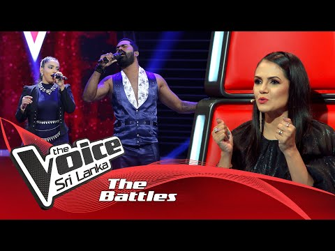 The Battles : Nipun De Silva V Apoorva Jayaweera | Tere Bina | The Voice Sri Lanka