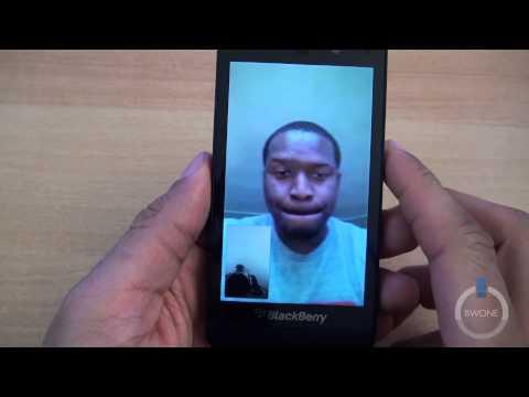 Blackberry Video Chat Demo - BWOne.com