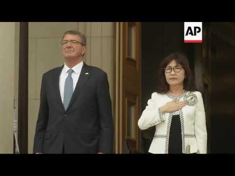 Japan Defence Minister meets US counterpart
