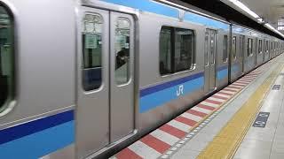 E231系800番台 東陽町発車
