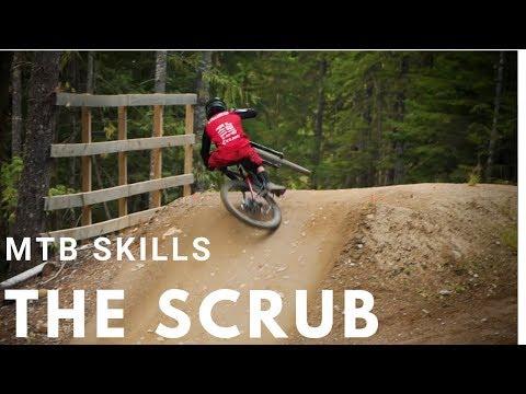 How to Scrub on a Mountain Bike   Whistler Bike Park