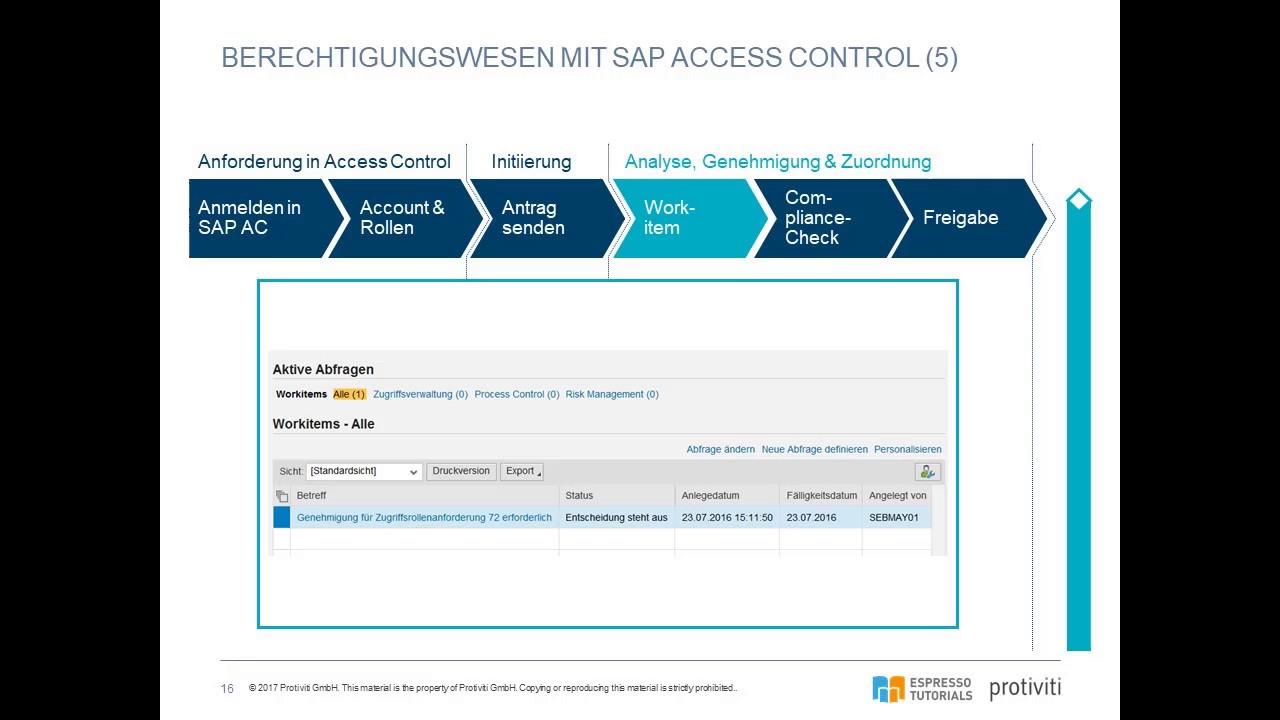 SAP GRC Access Control - YouTube