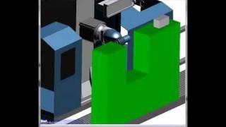 Nowość Edgecam 2011R2 - Wykrywanie kolizji z elementami graficznymi maszyny