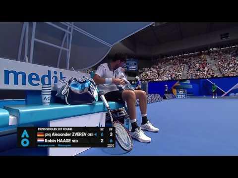 Zverev v Haase match highlights (1R)   Australian Open 2017