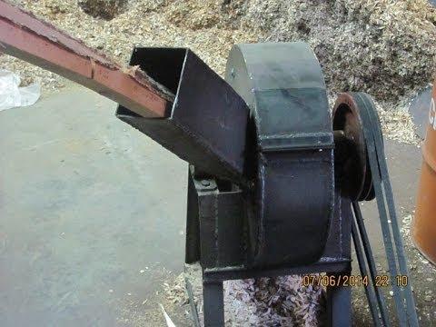 Щепорез используют для измельчения древесных отходов в щепу и в линии для производства арболитовых блоков, линии для производства пеллет,