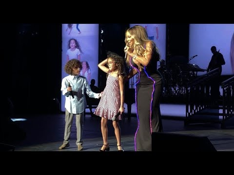 Always Be My Baby ft Roc & Roe  - London Royal Albert Hall - Mariah Carey Caution World Tour