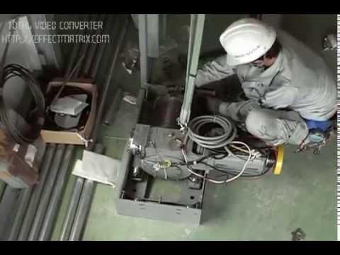 lắp đặt thang máy Gia đình, Hướng dẫn lắp đặt thang máy MITSUBISHI, quy trình lắp đặt thang máy