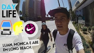 Day in the life - Luan Oliveira, Monica Torres e Abe em LA