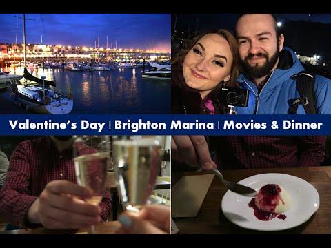 Vlog #8 - Valentine's Day 2016 | Brighton Marina | Dinner & Movies