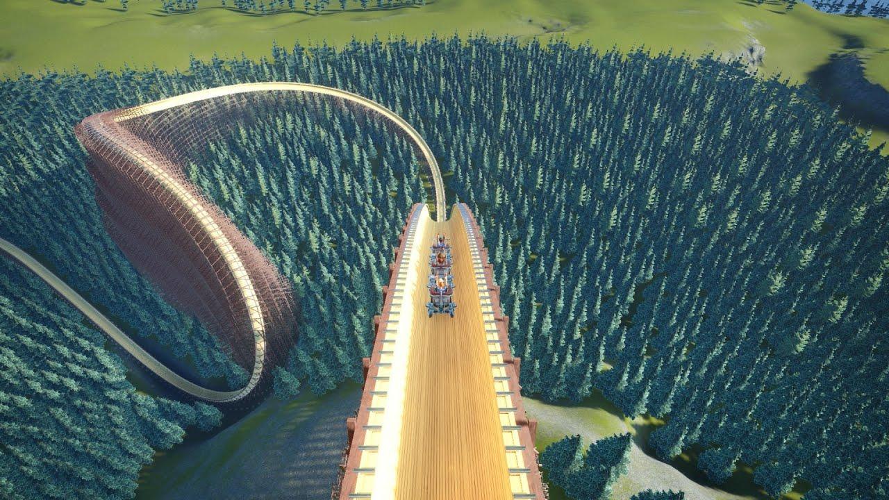 Super Toboggan Bobsled Coaster - Planet Coaster