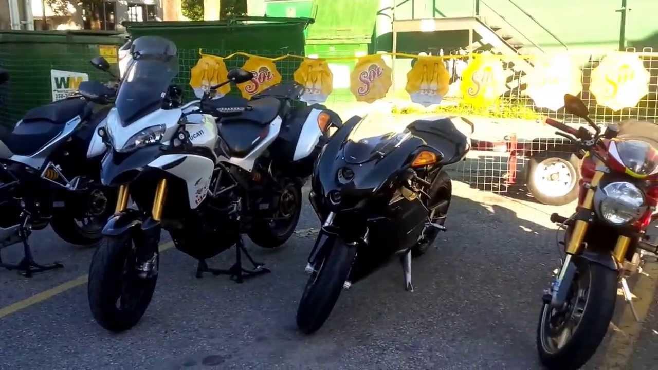 ducati users club of western canada 2013 bike rally in nelson, bc