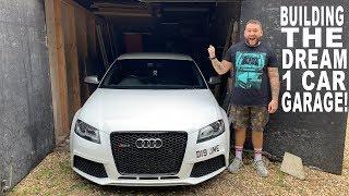 IM BUILDING MY DREAM 1 CAR GARAGE!