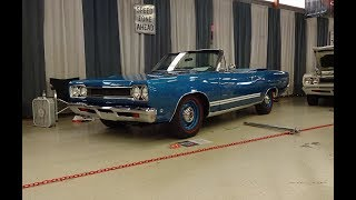 1968 Plymouth GTX Convertible in B5 Blue & 426 Hemi Engine Sound on My Car Story with Lou Costabile