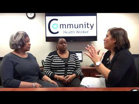 Chatting with the GHP Community Health Workers!
