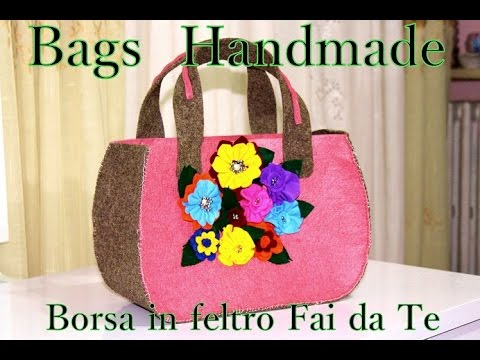 Tutorial diy come fare una borsa fai da te how make bag for Porta borse fai da te