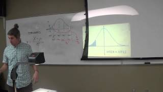 12.3.13 (Reviewing the Normal Distribution; Starting into the Central Llimit Theorem)