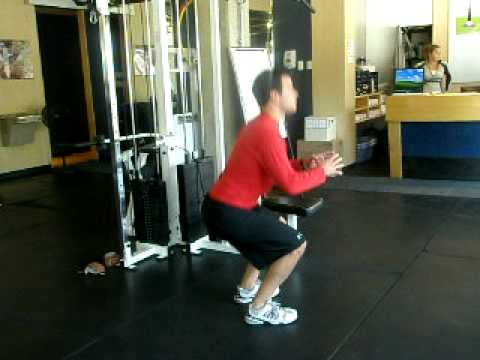 Calgary Herald Health Club: Squat Test