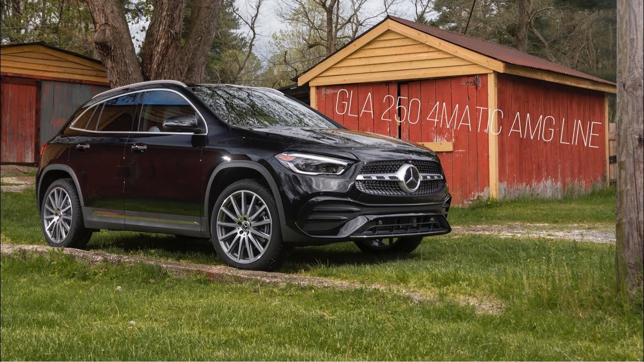 2021 mercedes-benz gla 250 4matic | amg line first look