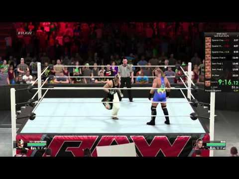 WWE 2K15 - Gold Rush Tournament (19:22)