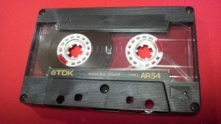 TDK AR Normal Position TypeⅠ カセットテープ 昭和 Retro Vintage Compact Cassette Collection