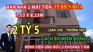 [Bán Biệt Thự Mini 2 Mặt Tiền TP Biên Hòa] 1 Lầu 1 Trệt (Cách Bến Xe Miền Đông Mới 7km)