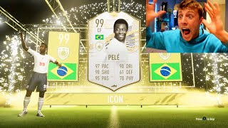W2S GETS PRIME PELE IN THE LUCKIEST FIFA 21 PACK OPENING!!