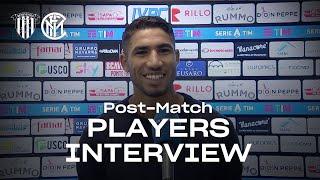 BENEVENTO 2-5 INTER | HAKIMI + GAGLIARDINI + SKRINIAR EXCLUSIVE INTERVIEWS [SUB ENG]