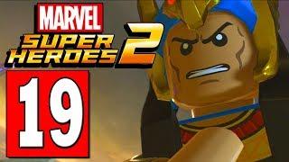 LEGO Marvel Super Heroes 2 Walkthrough Part 19 FINAL TRAIL INSIDE THE TOMB / EGYPT
