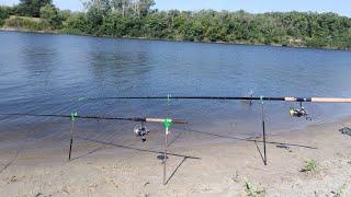 Рыбалка на реке Северский Донец на три дня Ловля карася подлещика густеры на фидер
