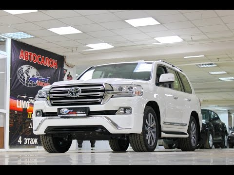 Toyota Land Cruiser 200 NEW 2017 Executive Chicago Motors Moscow