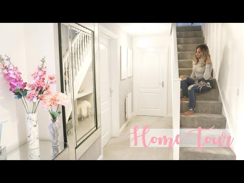 HOME TOUR | HALLWAY & HOME OFFICE | Lucy Jessica Carter