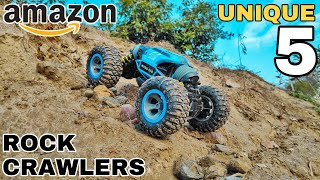 Top 5 Crazy Rc Rock Crawlers available on Amazon
