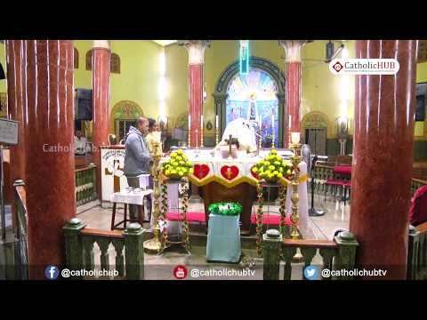 English Mass @ Shrine of Our Lady of Health, Khairatabad, HYD, TS, IND. 9-12-19.