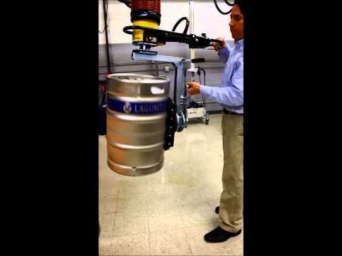 Keg Lifter with vacuum and 360 rotation by TAWI