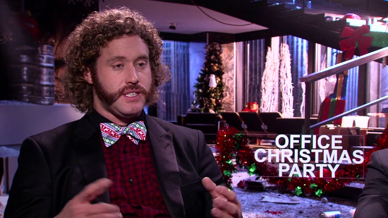 Office Christmas Party: T.J. Miller \