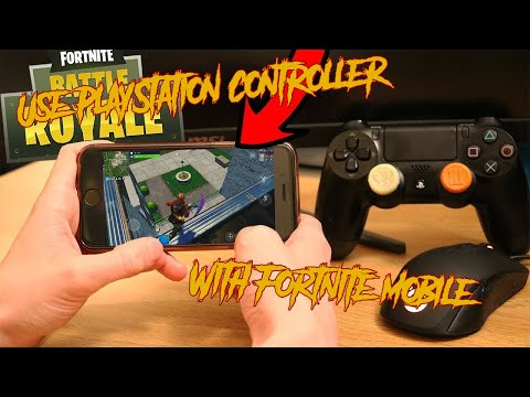 How To Connect A PS4 Controller To Mobile|XdBurkee