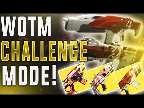 Destiny WRATH OF THE MACHINE CHALLENGE MODES! (Age of Triumph Vosik/Aksis Challenge.)