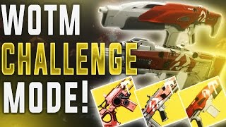 Destiny WRATH OF THE MACHINE CHALLENGE MODES! (Age of Triumph Vosik/Aksis Challenge.)