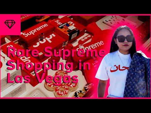 Rare Supreme Shopping + Las Vegas Road Trip   nitro:licious