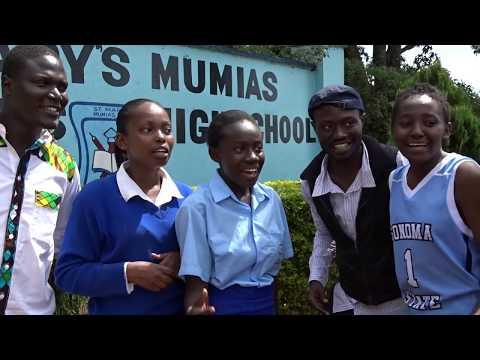 school girls dancing kumbe kumbe ......Afrikwear entertainment unit
