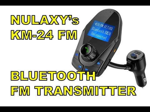 Instant SMART CAR! Nulaxy KM24 Bluetooth FM Transmitter Unboxing Set-Up & Review