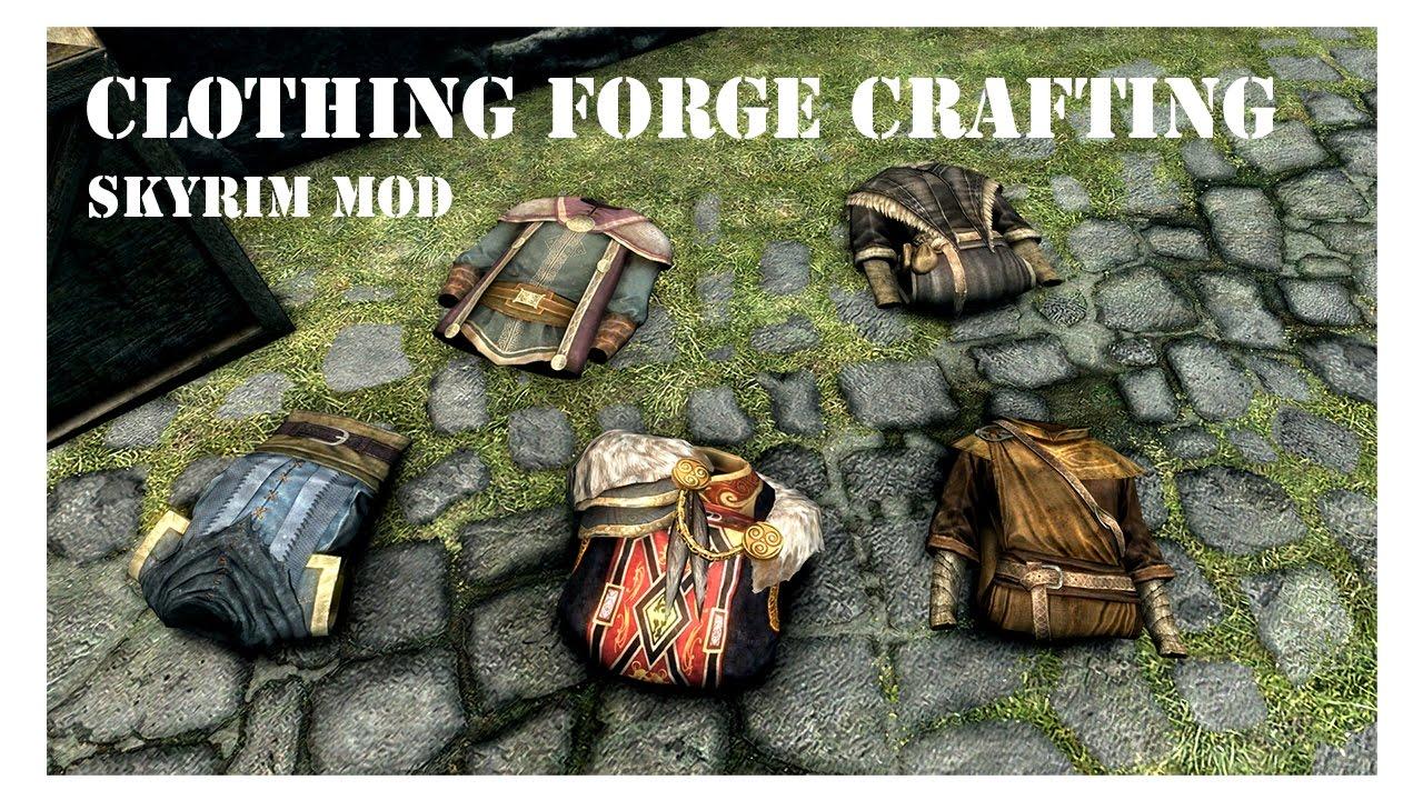 Skyrim Bulk Crafting Mod