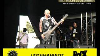 LEISHMANIASIS Rock al Parque 2011