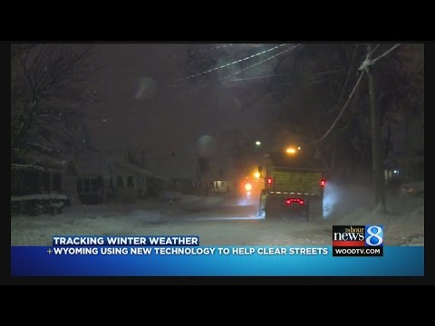 Wyoming uses technology to help clear streets