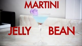 How To Make An Easter Jolly Rancher Jelly Bean Martini -drinks Made Easy